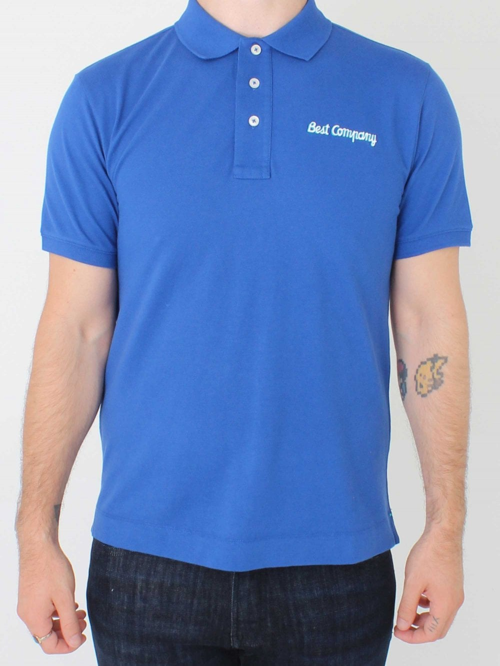 Basic Logo Polo Blue