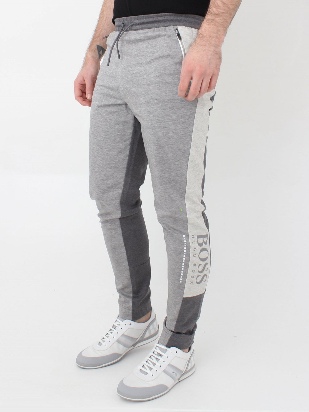 details for clear-cut texture best site Athleisure HL Tech Track Pants - Pastel Grey