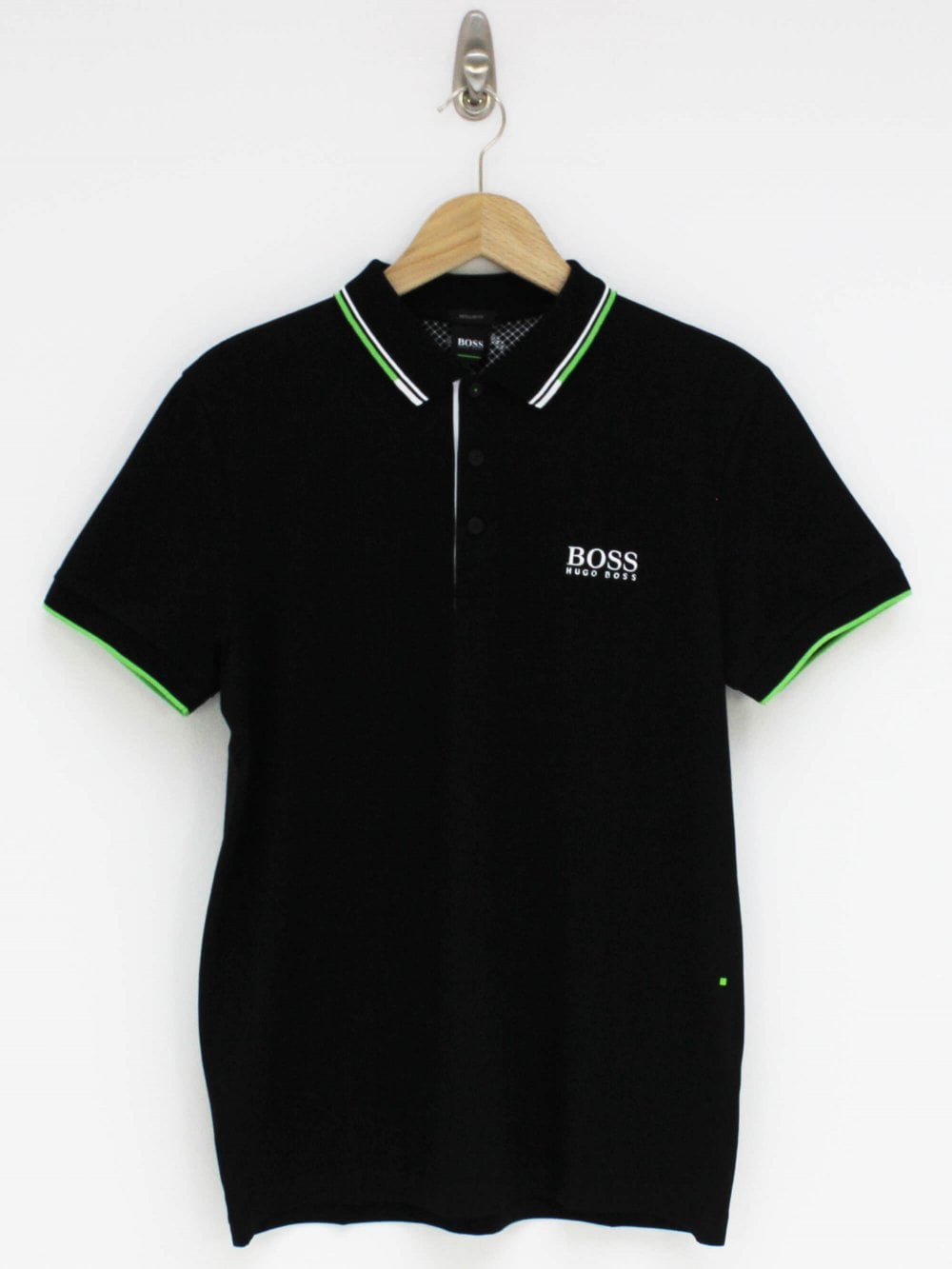 c52b3072e Hugo Boss Athleisure Paddy Pro Polo in Black | Northern Threads