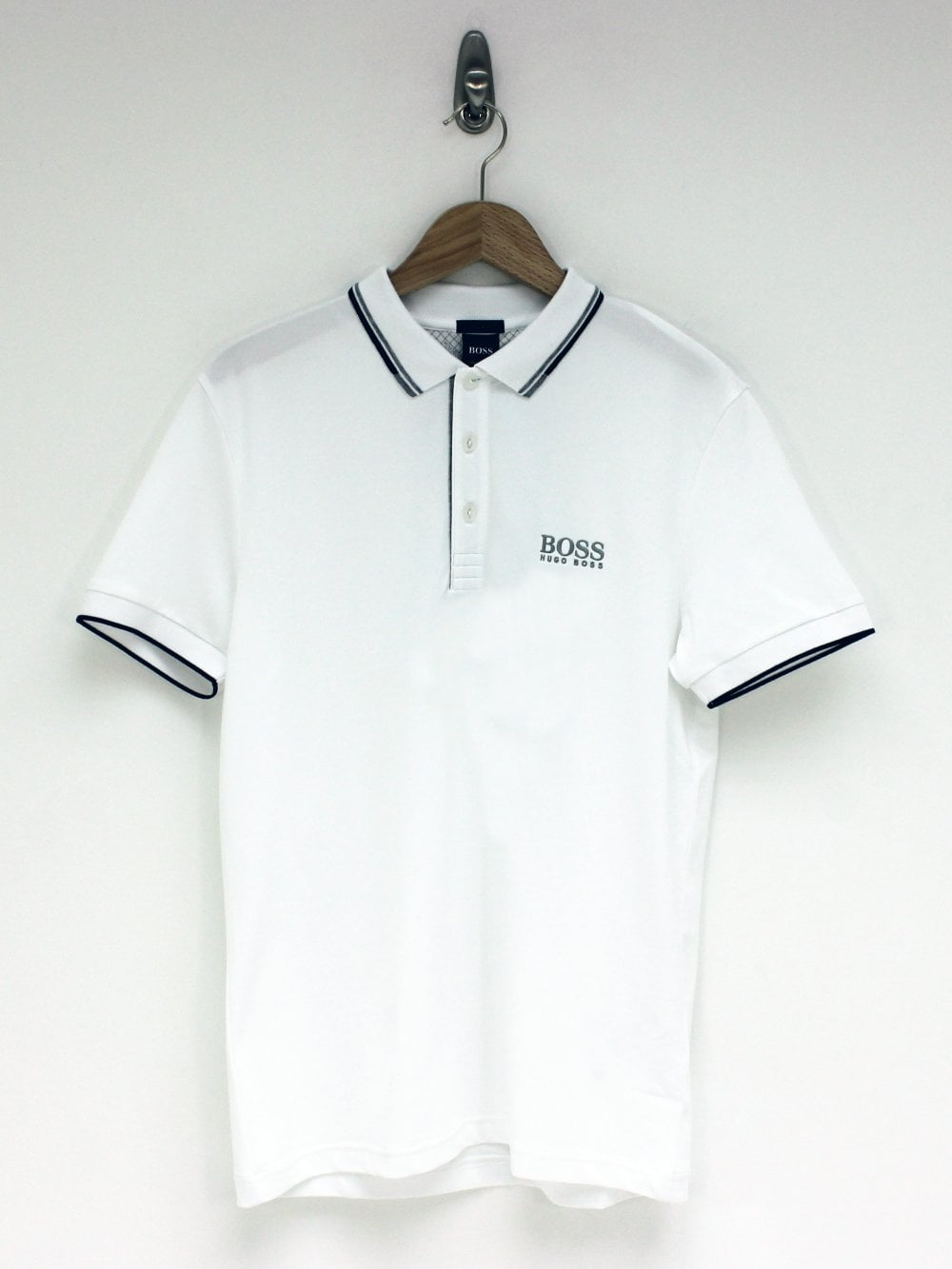 d26bbdd00 Hugo Boss Athleisure Paddy Pro Polo in White | Northern Threads