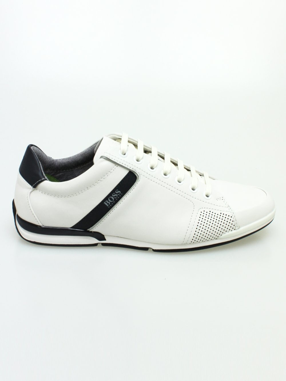 bf751ce46c Hugo Boss Athleisure Casual Low P LUX4 Trainers in White | Northern ...