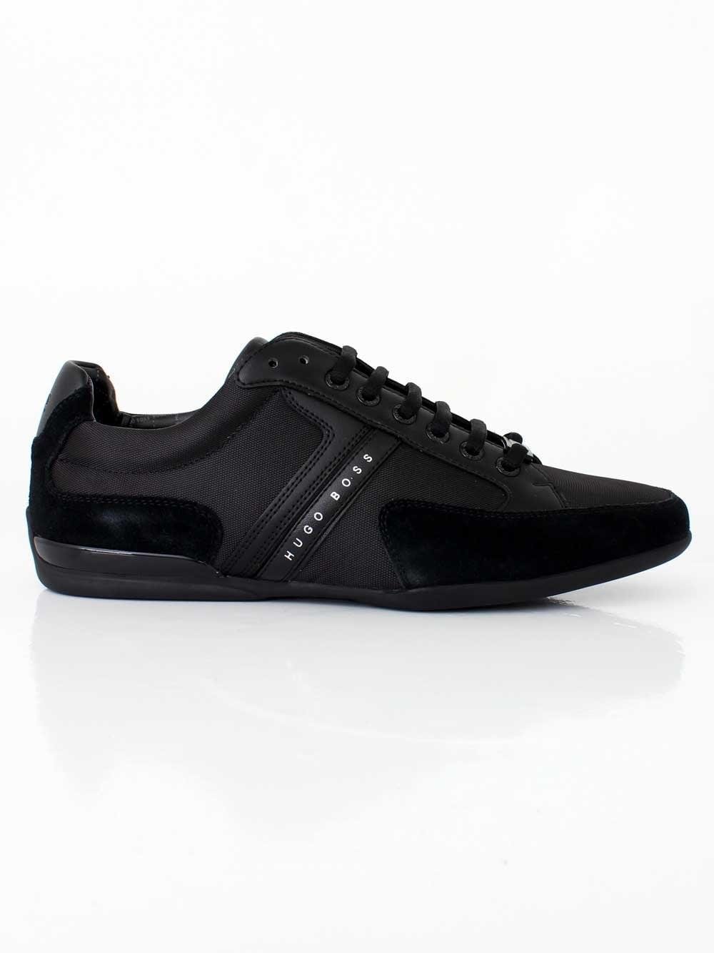 Hugo Boss Spacit Trainer in Black