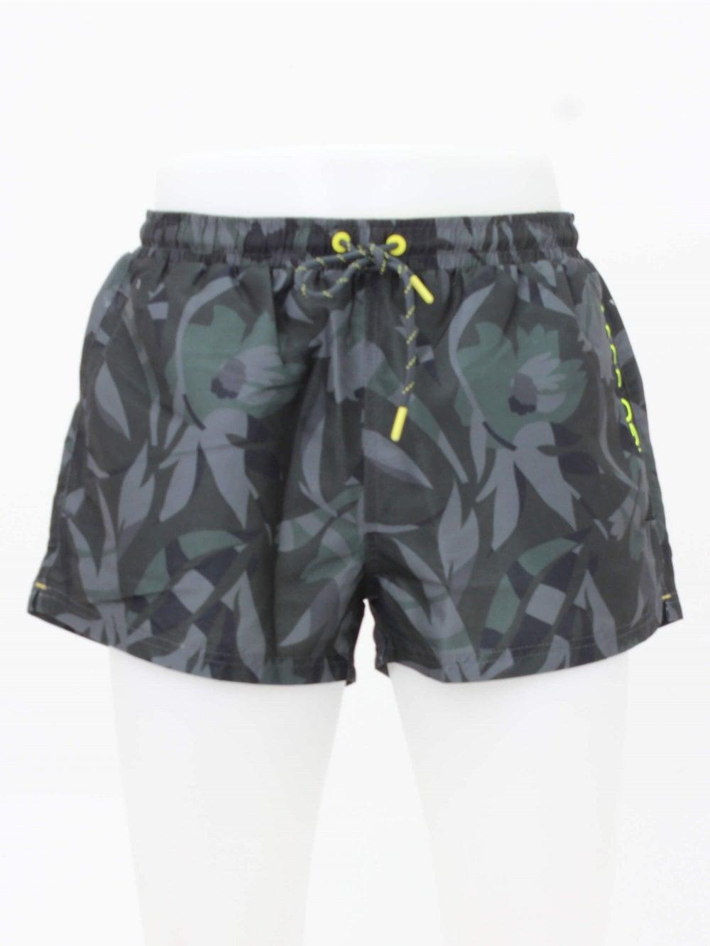 8fc6ea348 Hugo Boss Athleisure Barreleye Swim Shorts in Open Green | Northern ...