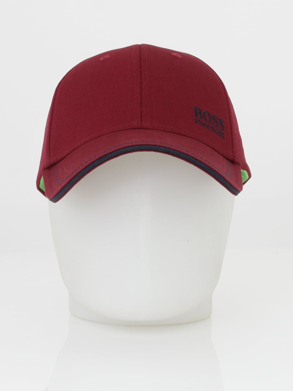 Boss - Boss Green Logo Cap 1 in Medium Red - Northern Threads 106e4b0dec8