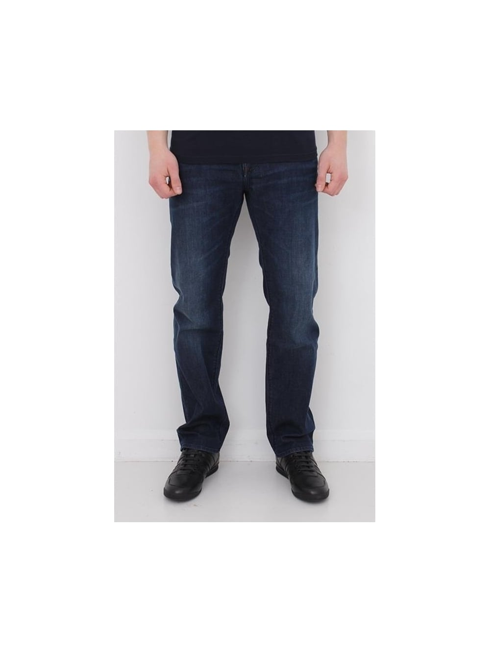 d8daad21 HUGO BOSS BOSS Green C-Maine 1 Regular Fit Jeans in Navy - Northern ...