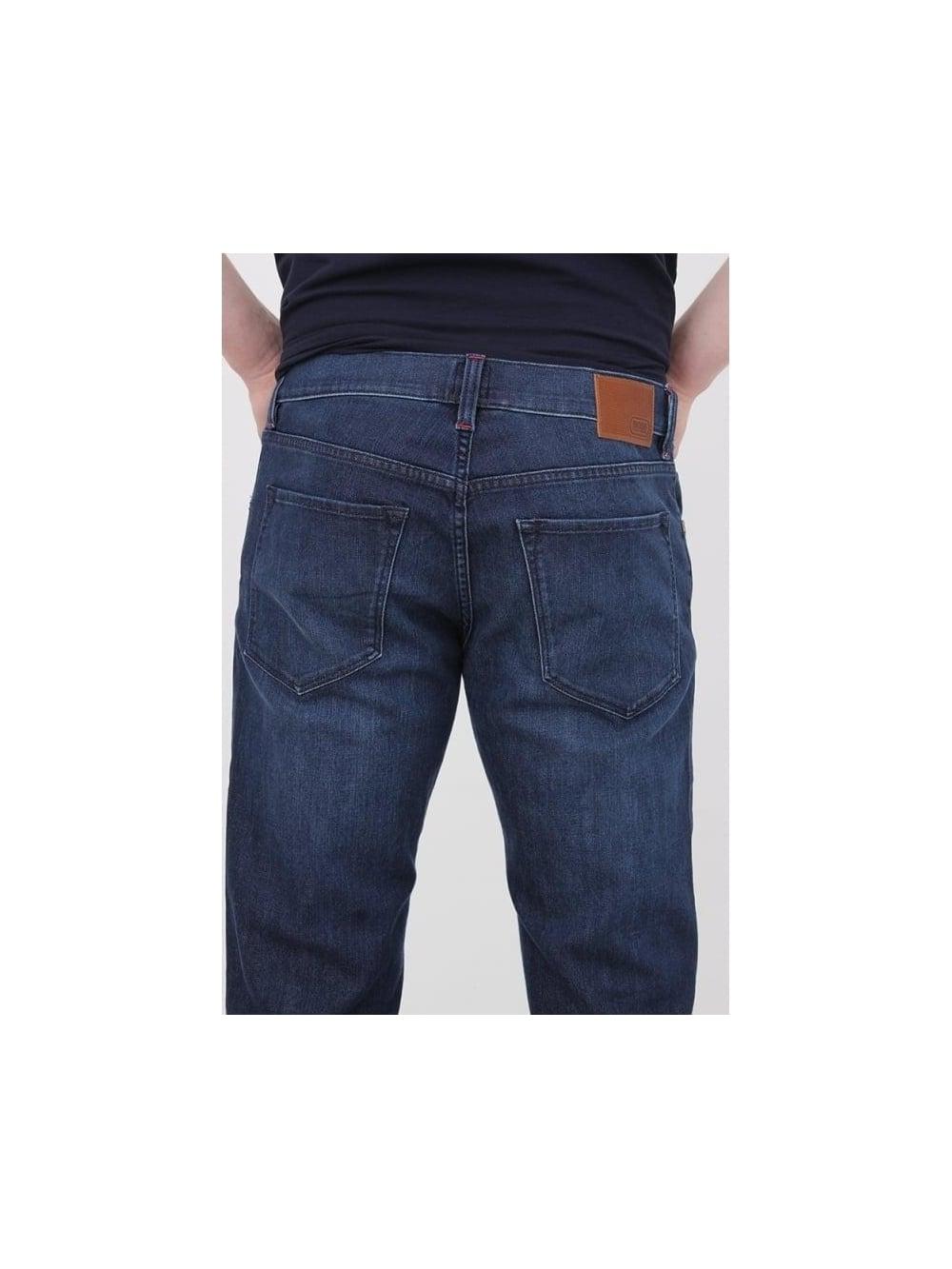 1a42b600889c HUGO BOSS BOSS Green C-Maine 1 Regular Fit Jeans in Navy - Northern ...