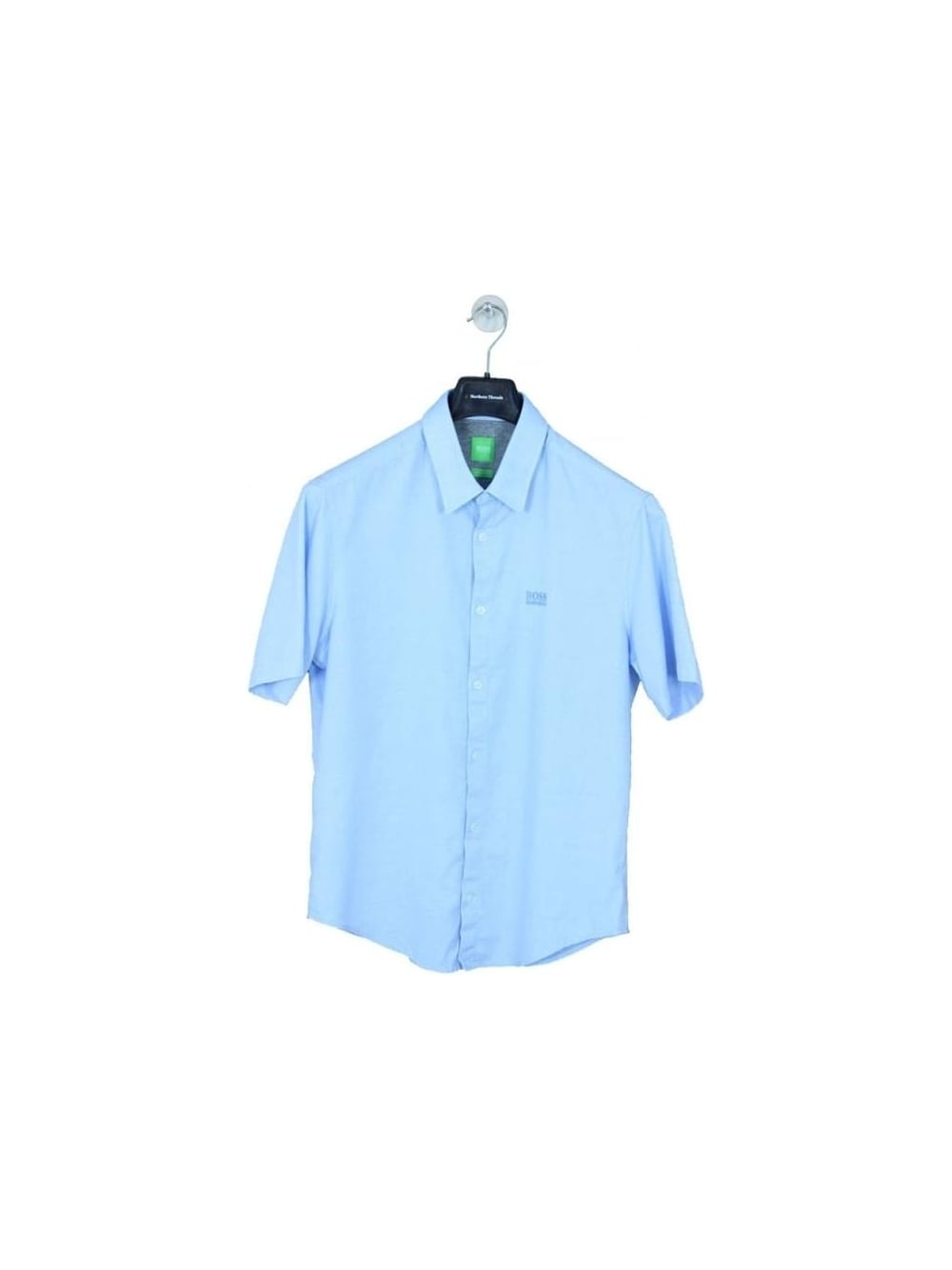 81ace78ad Hugo Boss Green C-Busterino Shirt in Open Blue - Northern Threads