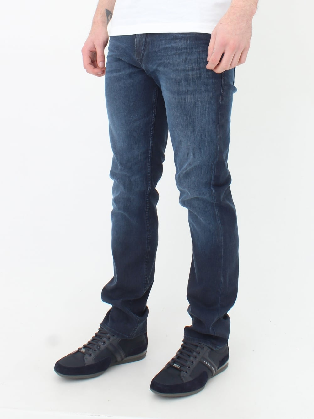 d97c0493035 Hugo Boss Green Drake 2 Jeans in Navy | Northern Threads