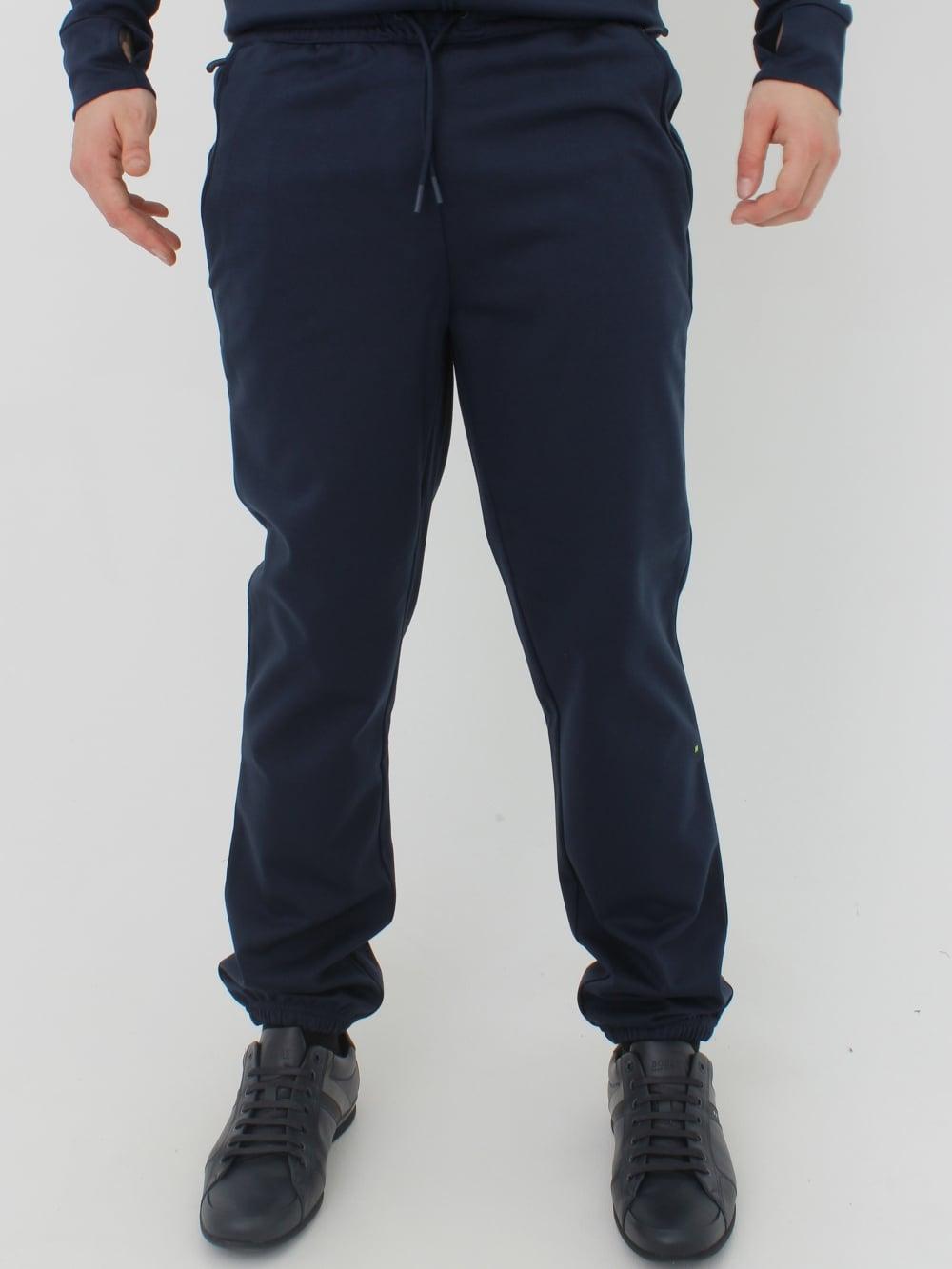 281d8669 Hugo Boss HL Tech Logo Track Pants in Navy - Northern Threads