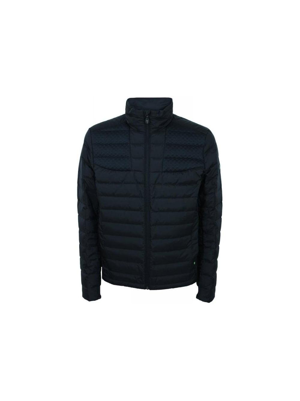 0a2f0e0936f Hugo Boss Green Jurado Jacket in Black - Northern Threads