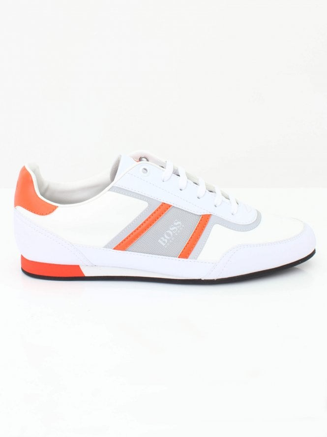 BOSS Athleisure Lighter Low Trainer - Open White