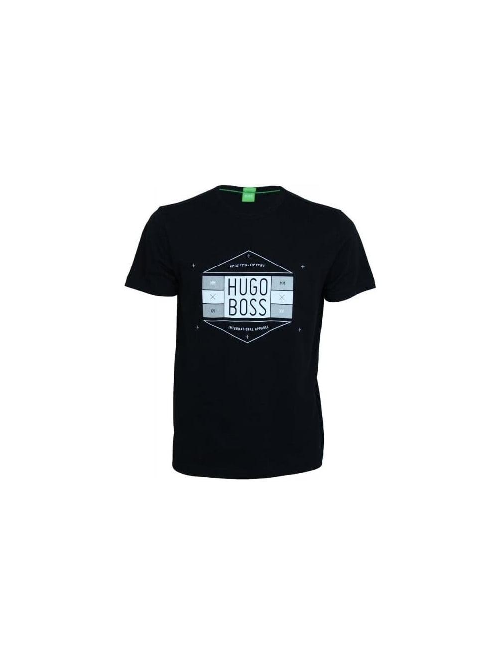 f2b7b1881231f BOSS Lunar Eclipse T.Shirt - Black