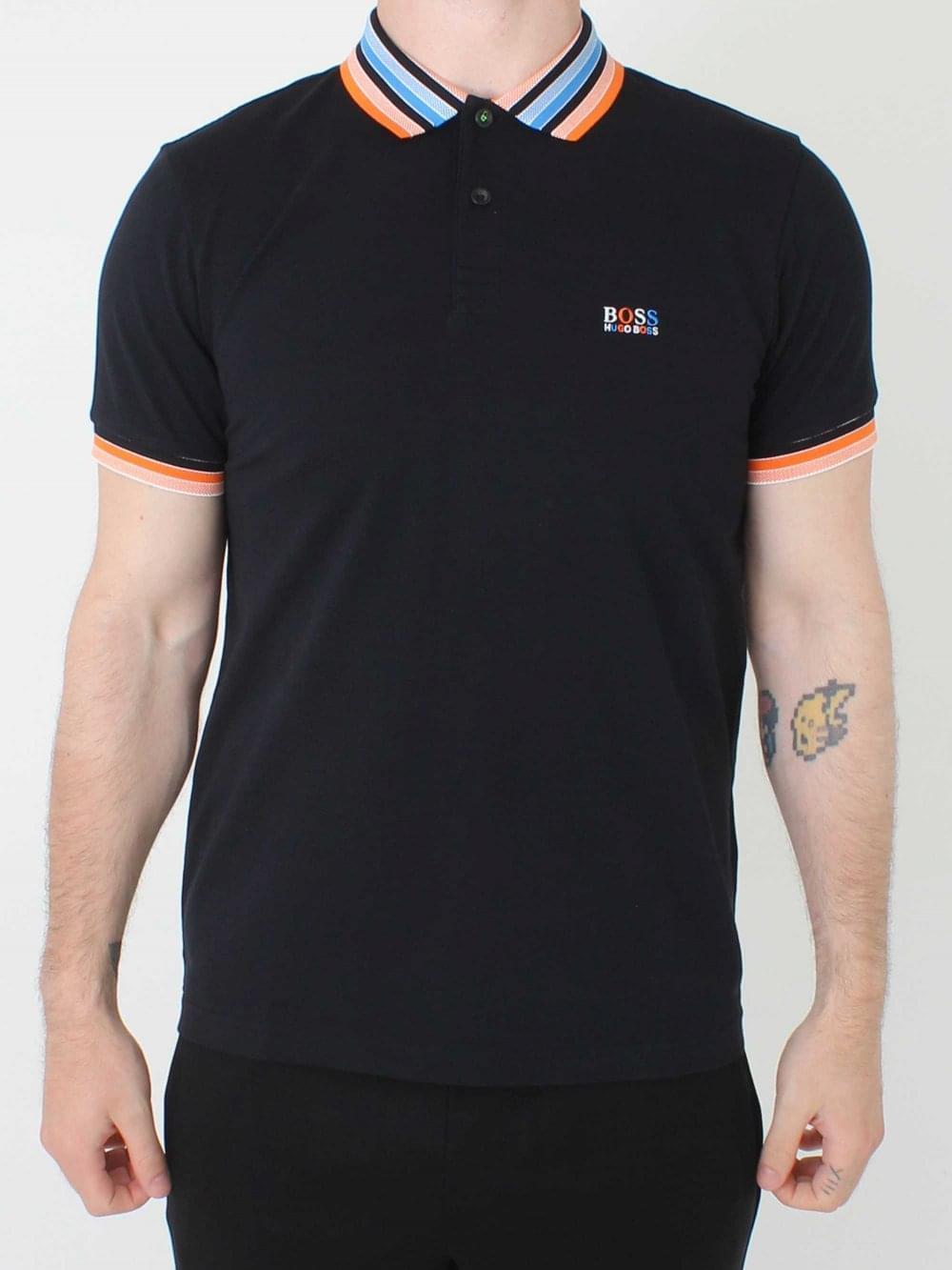 7ec7dde0b Hugo Boss Paddy 1 Polo in Black | Northern Threads