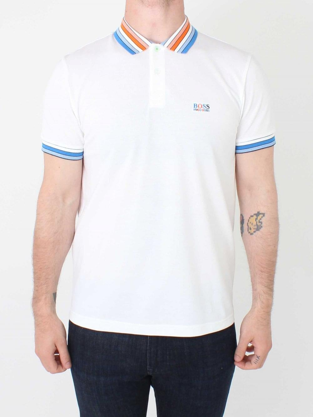 4d616e8d0 Hugo Boss Paddy 1 Polo in White | Northern Threads
