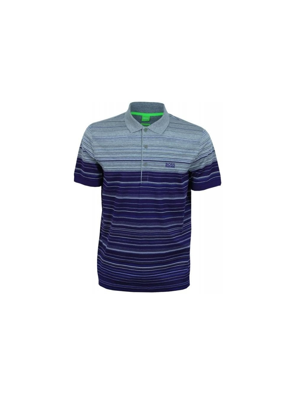 f83d5d513 Hugo Boss Green Paddy 3 Polo in Dark Purple - Northern Threads