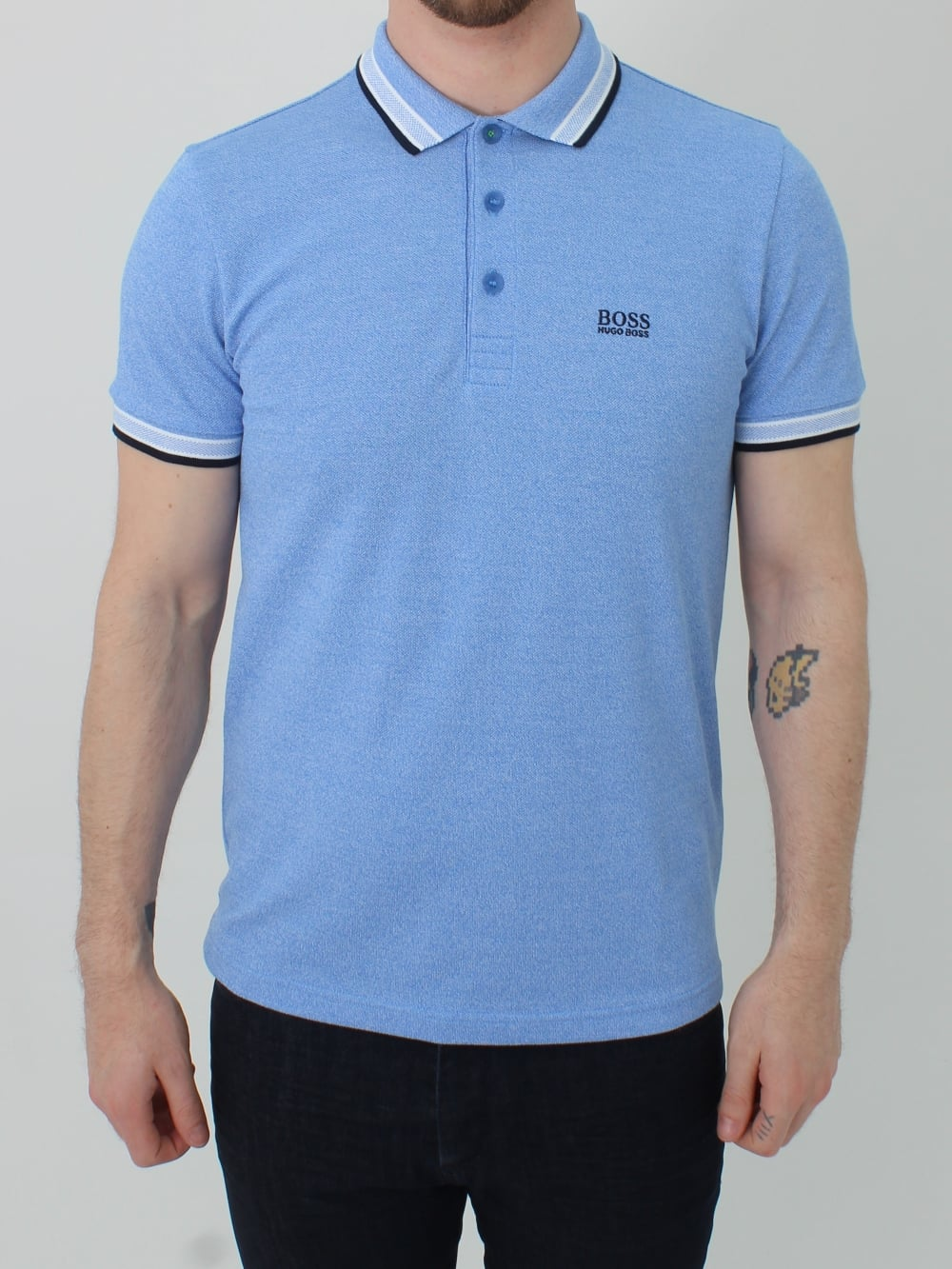 ac91fa58 Paddy Polo - Light Blue