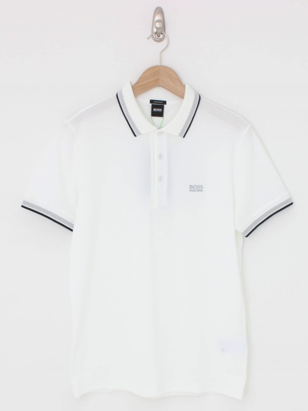 2bc218bcb Hugo Boss Athleisure Paddy Polo in White | Northern Threads