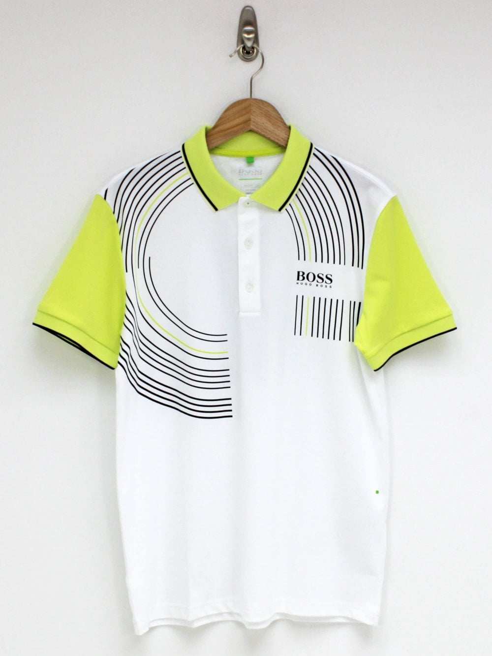 fc533c812 Hugo Boss Athleisure Paddy Pro 2 Polo in White | Northern Threads