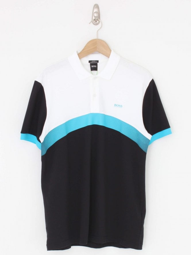 BOSS Athleisure Paule 3 Polo - Black