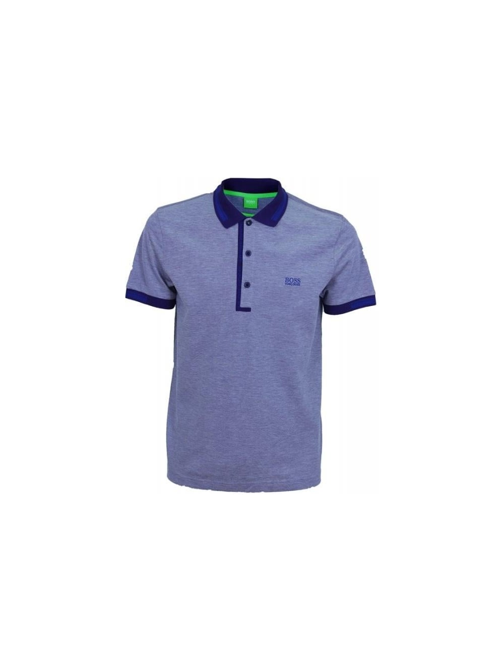 025891c4c Hugo Boss Green Paule 4 Polo in Dark Purple - Northern Threads