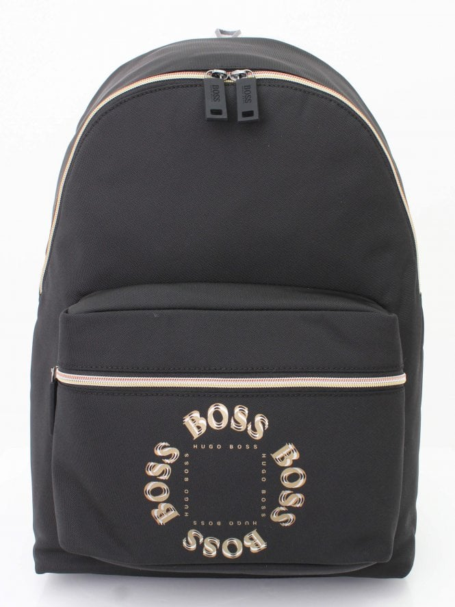 BOSS Athleisure Pixel Backpack - Black