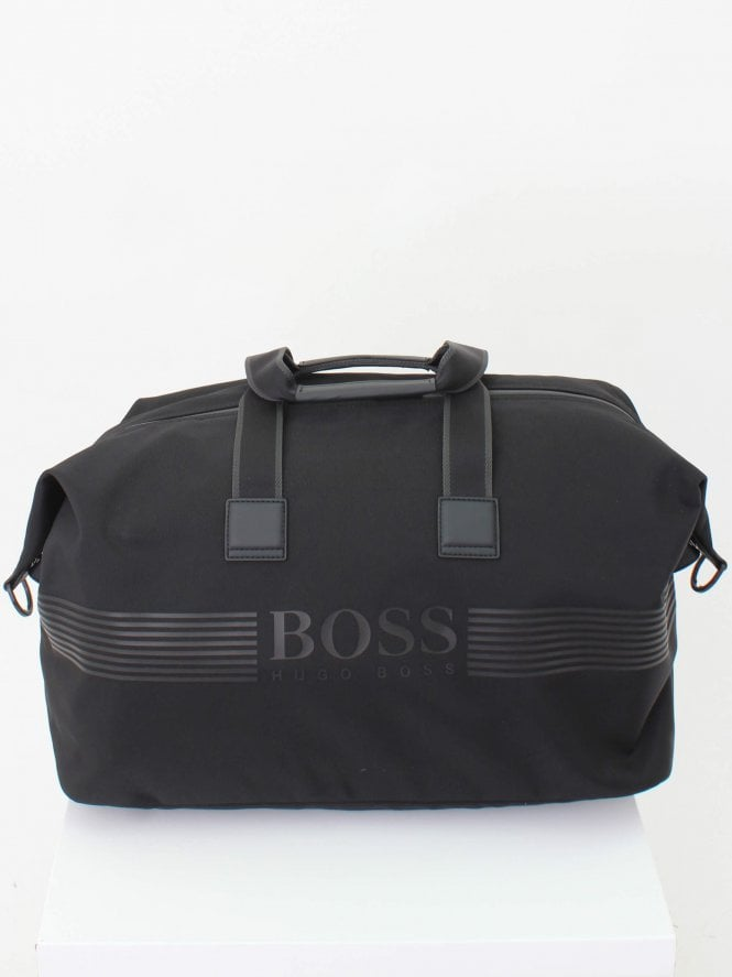 BOSS Athleisure Pixel Holdall - Black