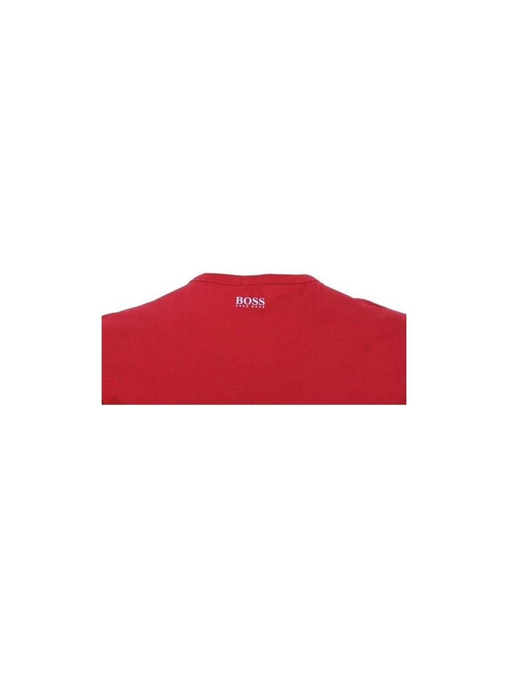 74826fc4 Hugo Boss Green Quality and Innovation T.Shirt in Red - Northern Threads