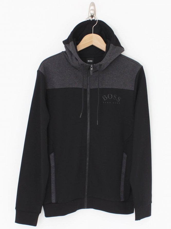 BOSS Athleisure Saggy Hooded Sweat - Black