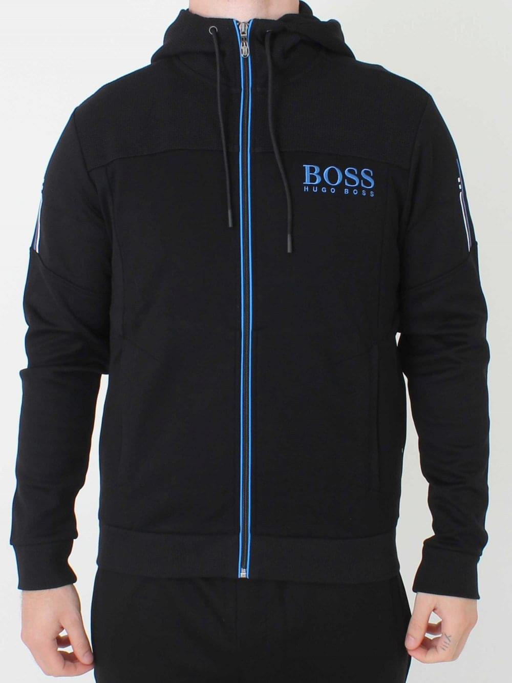 40dc29bd1cc Hugo Boss Saggy Sweat in Black | Northern Threads