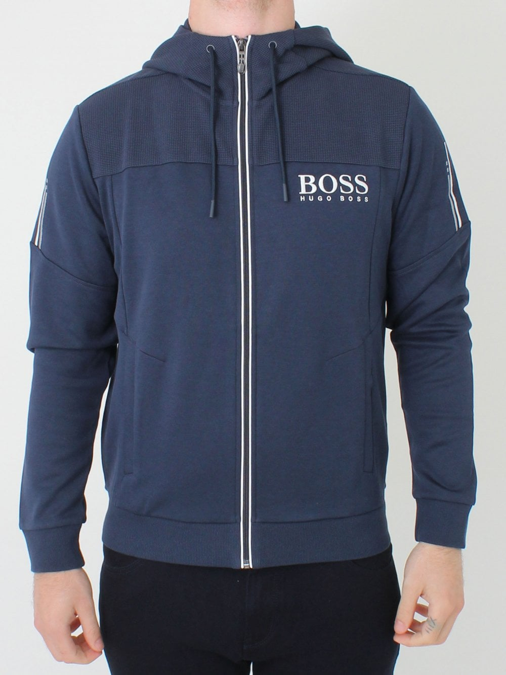 d9d4ff75530 Hugo Boss Saggy Sweat in Navy | Northern Threads