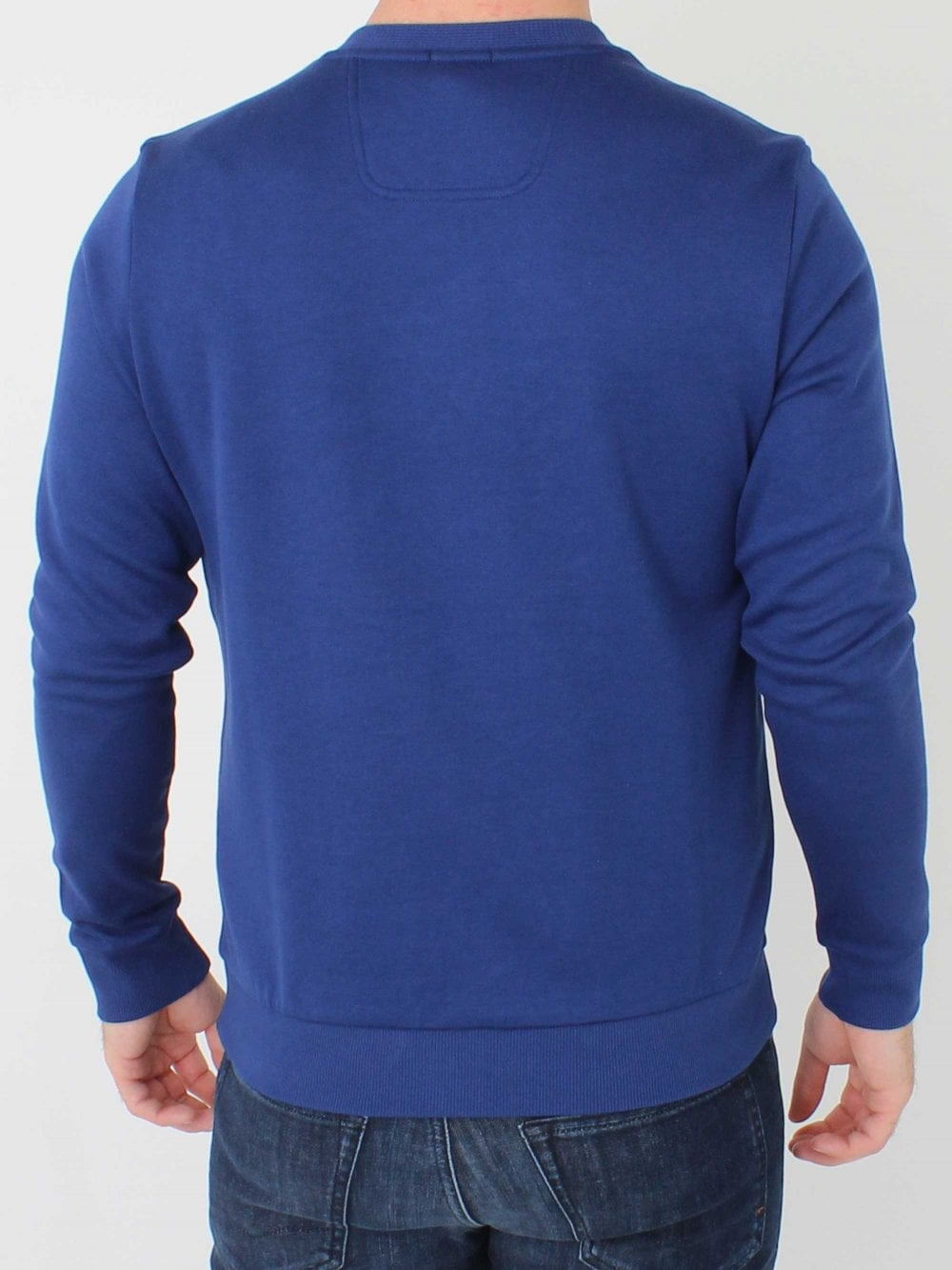Hugo Boss Salbo Sweat in Dark Blue   Northern Threads 5824ccb1e41d