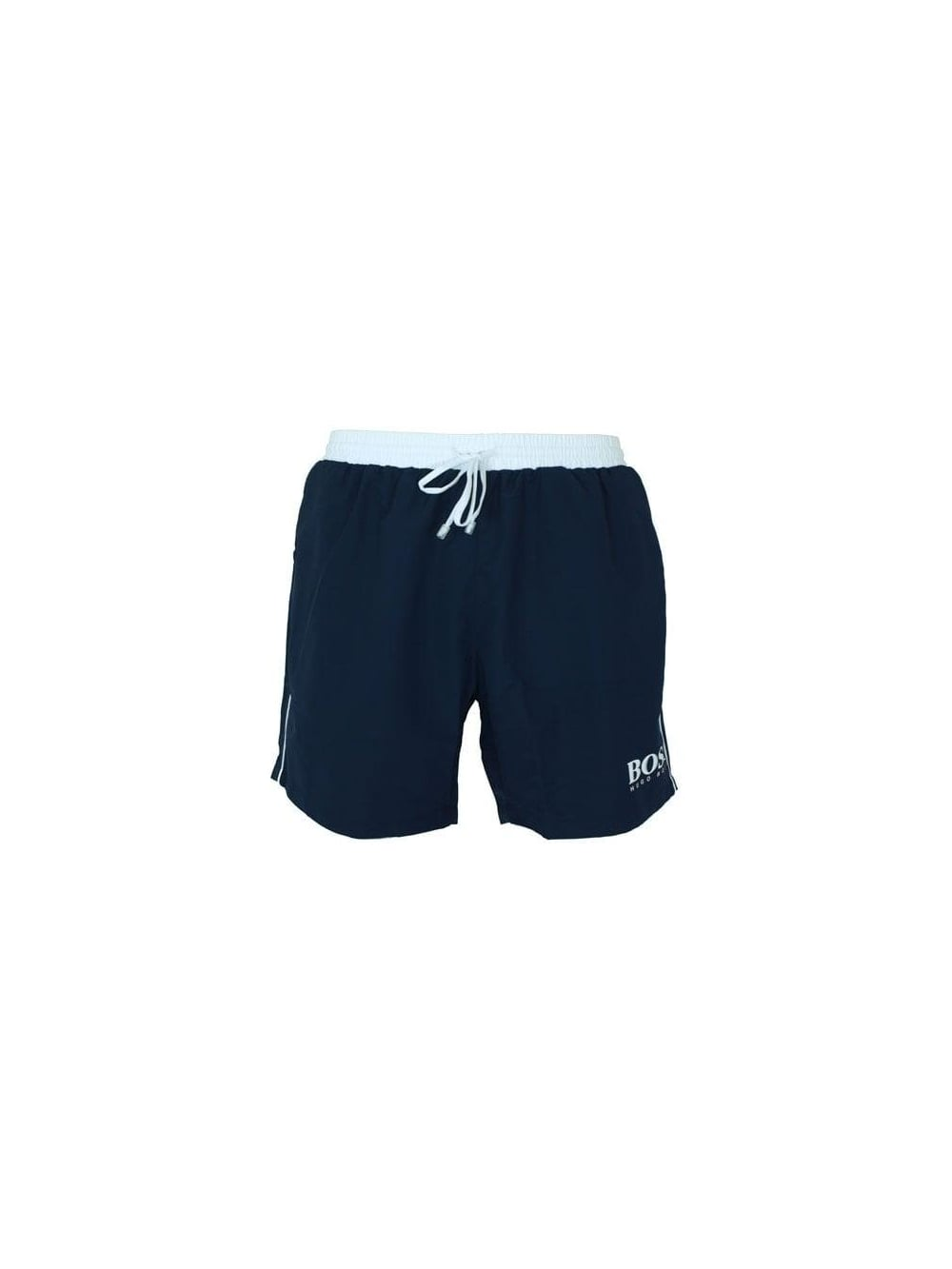 53a915dfe92d Hugo Boss Green Starfish Swimming Shorts in Navy - Buy Hugo Boss ...