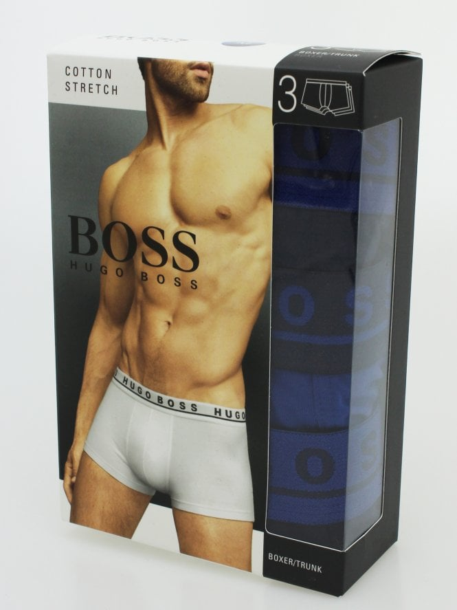 BOSS Bodywear 3 Pack Boxer Shorts - Multi