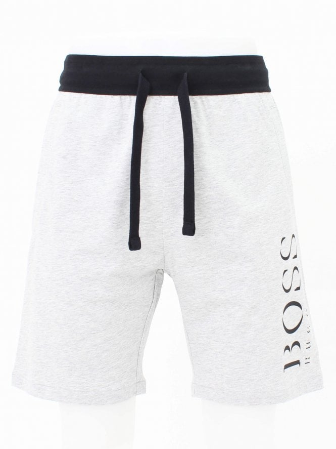 BOSS Bodywear Authentic Sweat Shorts - Medium Grey