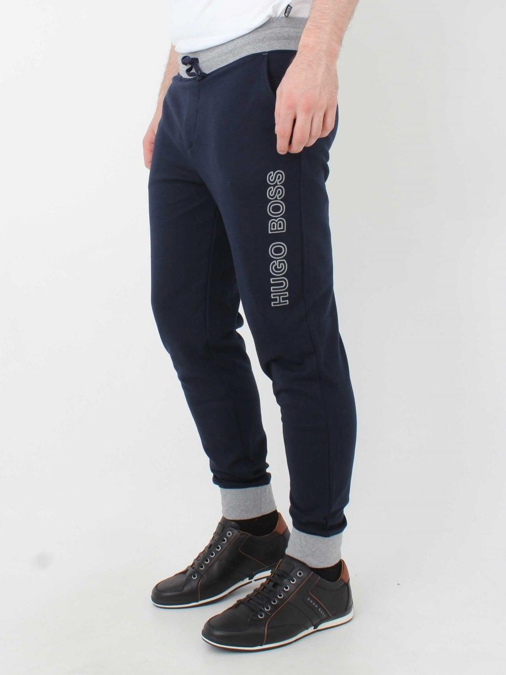 482ac238bb2 Hugo Boss Contemp Pants in Dark Blue