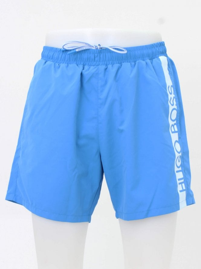BOSS Bodywear Dolphin Swim Shorts - Bright Blue