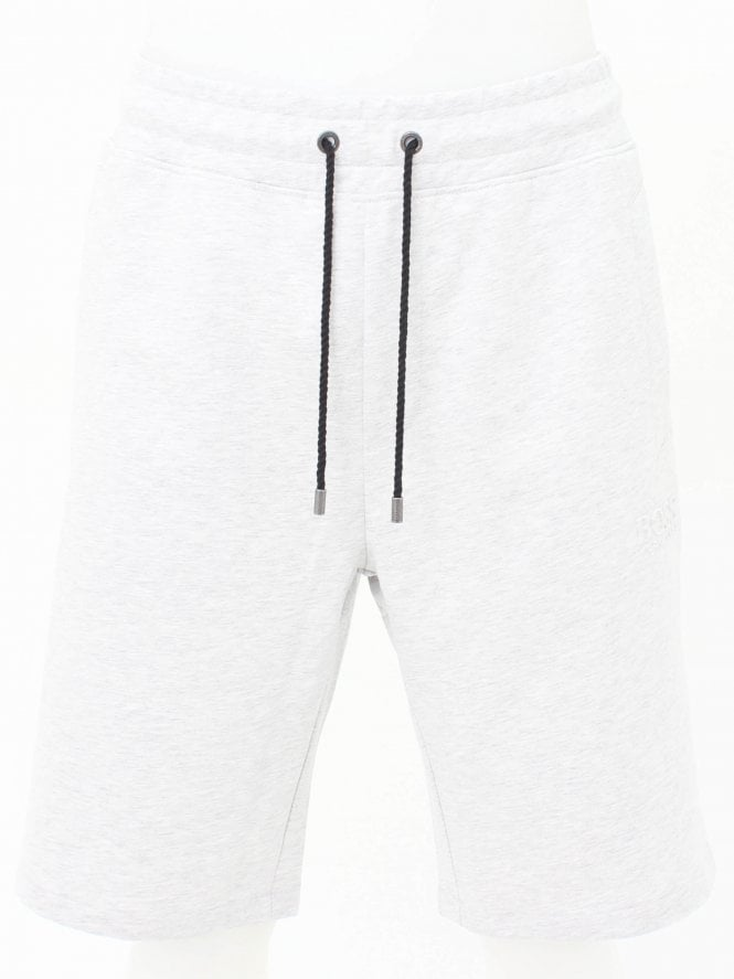 BOSS Bodywear Heritage Logo Shorts - Medium Grey