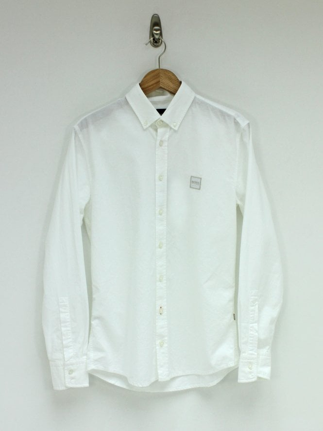 BOSS Casual Mabsoot Shirt - White