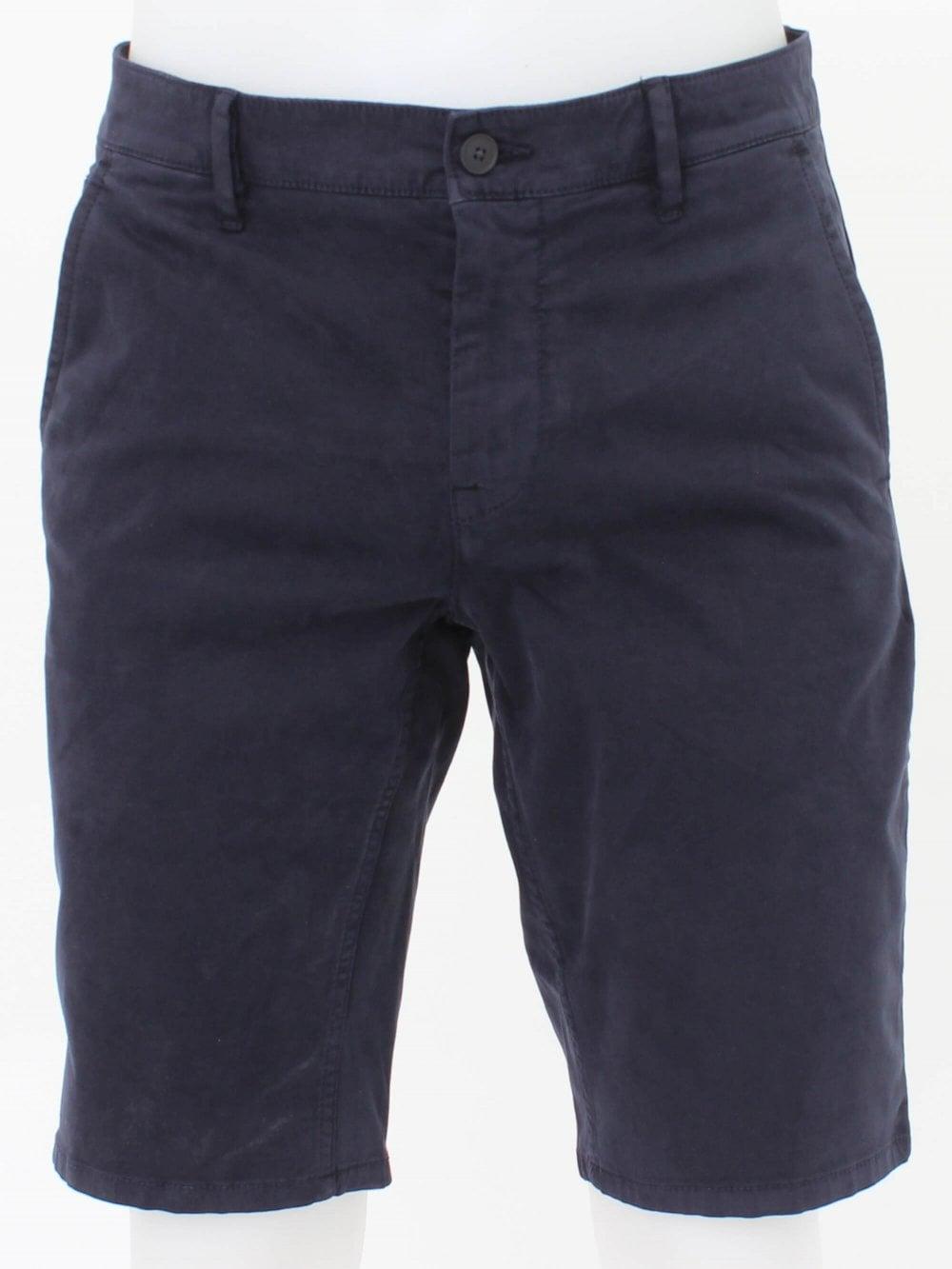 aae0eca4f Hugo Boss Casual Schino Slim Fit Shorts in Navy | Northern Threads