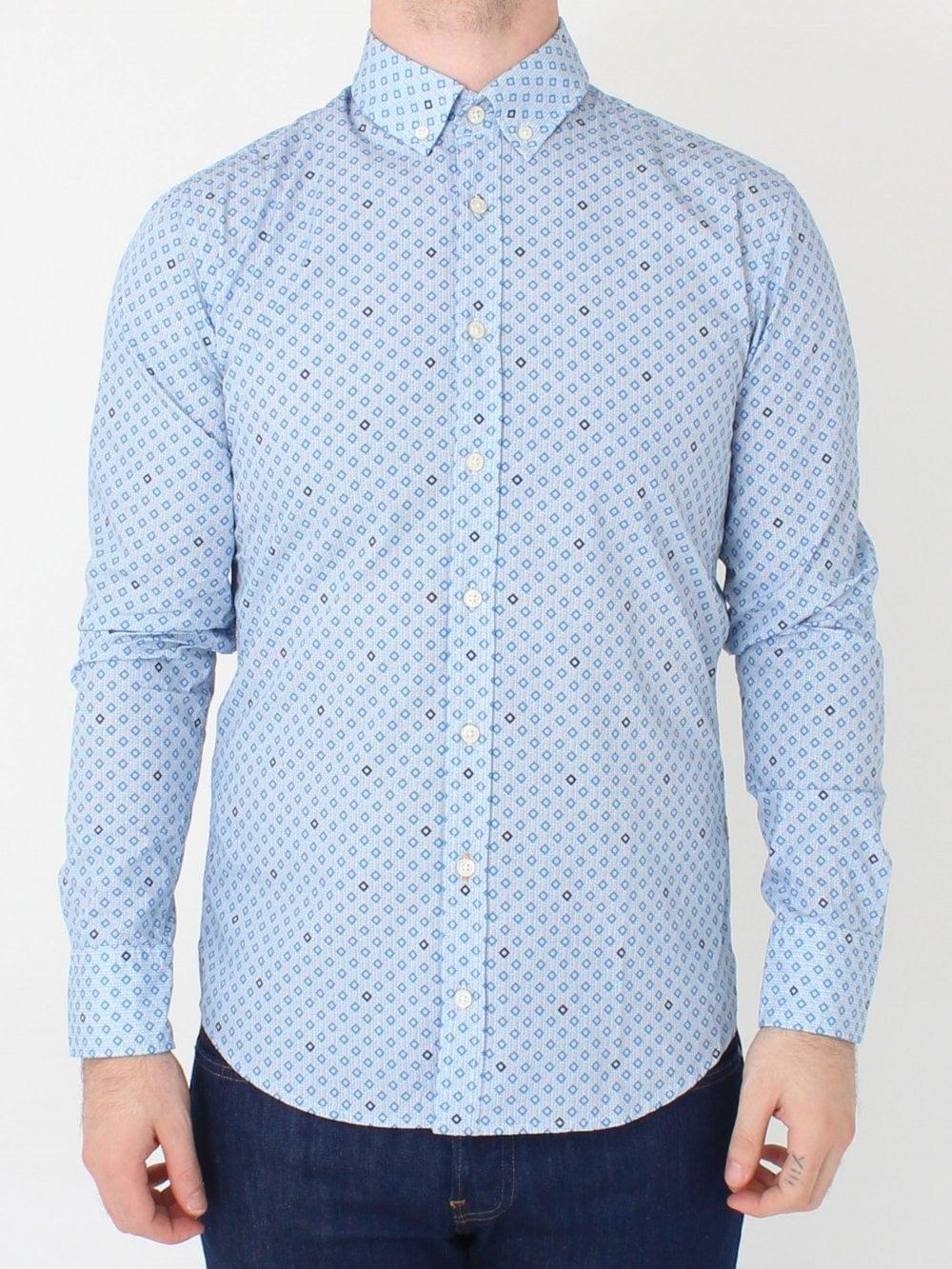 06bf04d77 Hugo Boss Mabsoot Shirt in Open Blue   Northern Threads