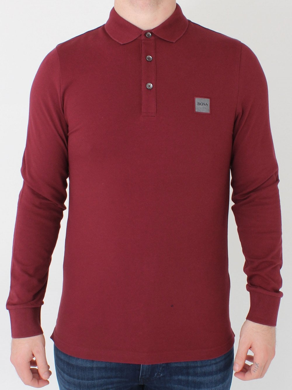 4cab3fa10fd Hugo Boss Passerbhy in Open Red | Northern Threads