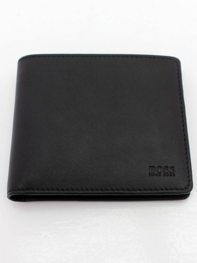 BOSS Casual Majestic S 8CC Wallet - Black
