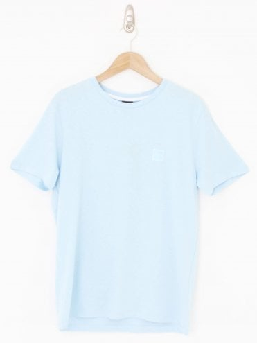 Casual Tales Crew Neck T.Shirt - Blue Light