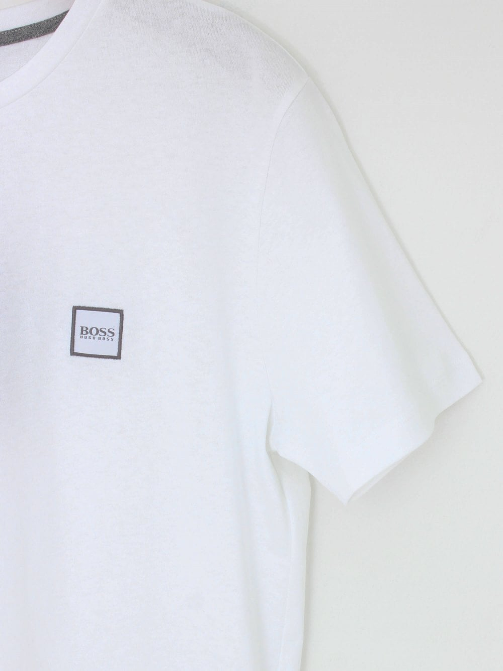 BOSS Tales T Shirt in White