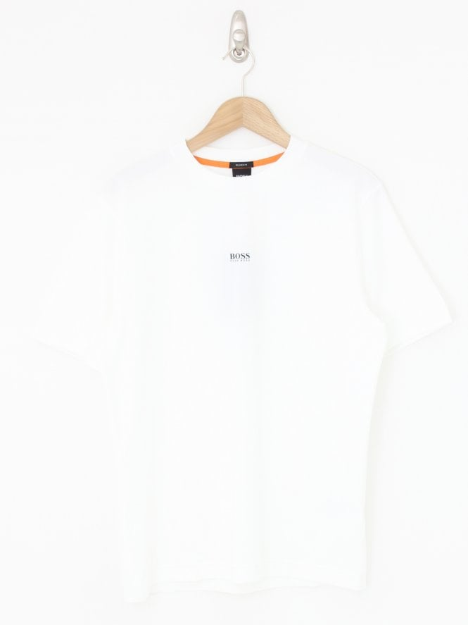 BOSS Casual Tchup Tee - White