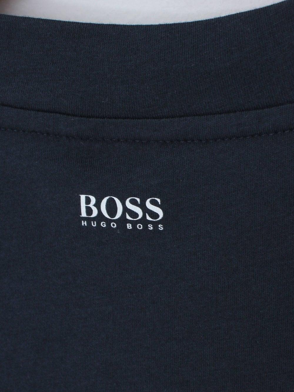 0dbce7c14 Hugo Boss Casual Teecher 2 T.shirt in Dark Blue | Northern Threads