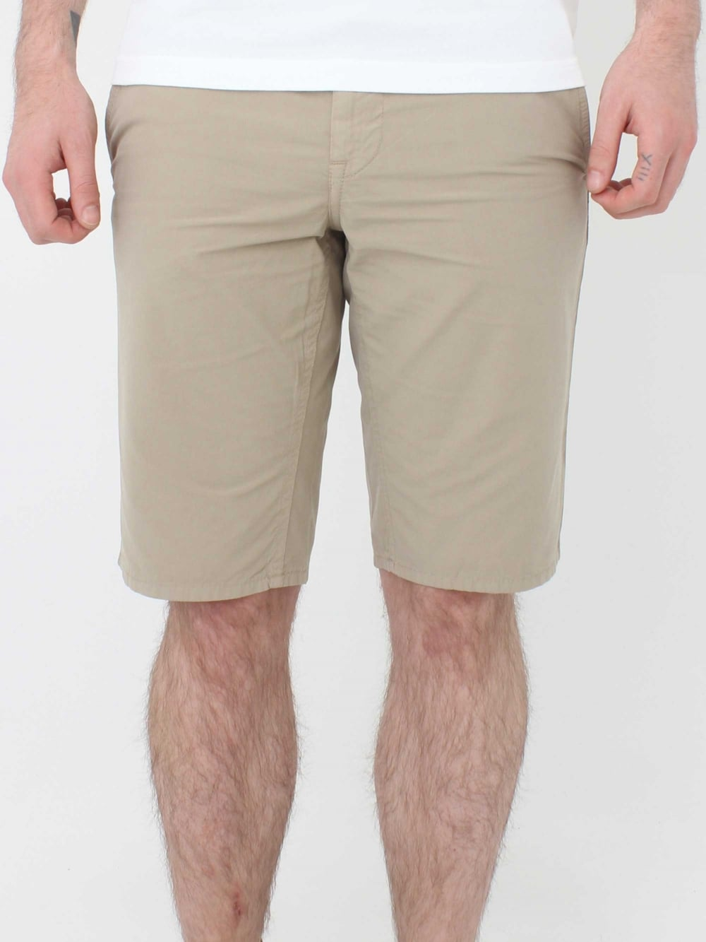 5b95c80f Hugo Boss Schino Slim Fit Shorts in Medium Beige