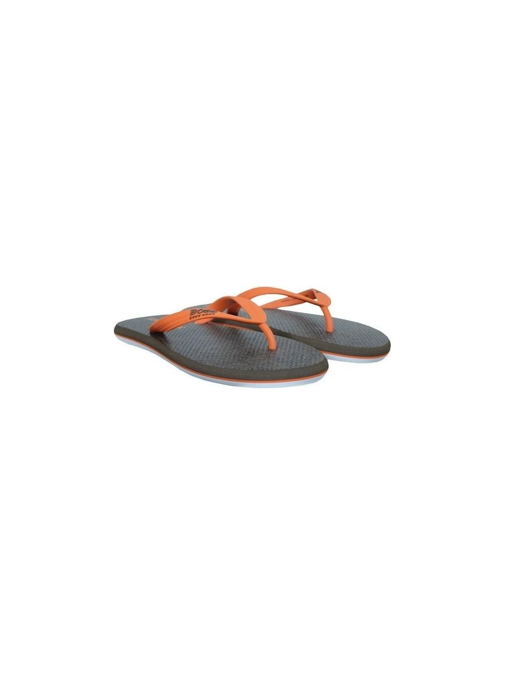 bfee21c0aac7 Hugo Boss Orange Waikkon Flip Flops in Medium Orange - Northern Threads