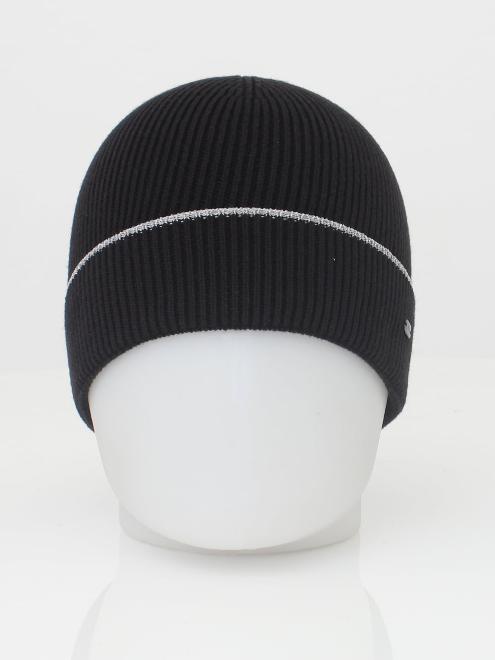 HUGO BOSS - BOSS Green Beanie Reflective Hat in Navy - Northern Threads 60664814ae6