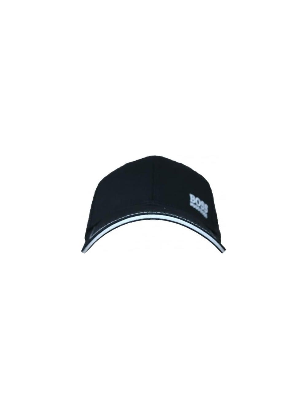 HUGO BOSS Green Cap 1 in Black White - Northern Threads 4c11f1d11434